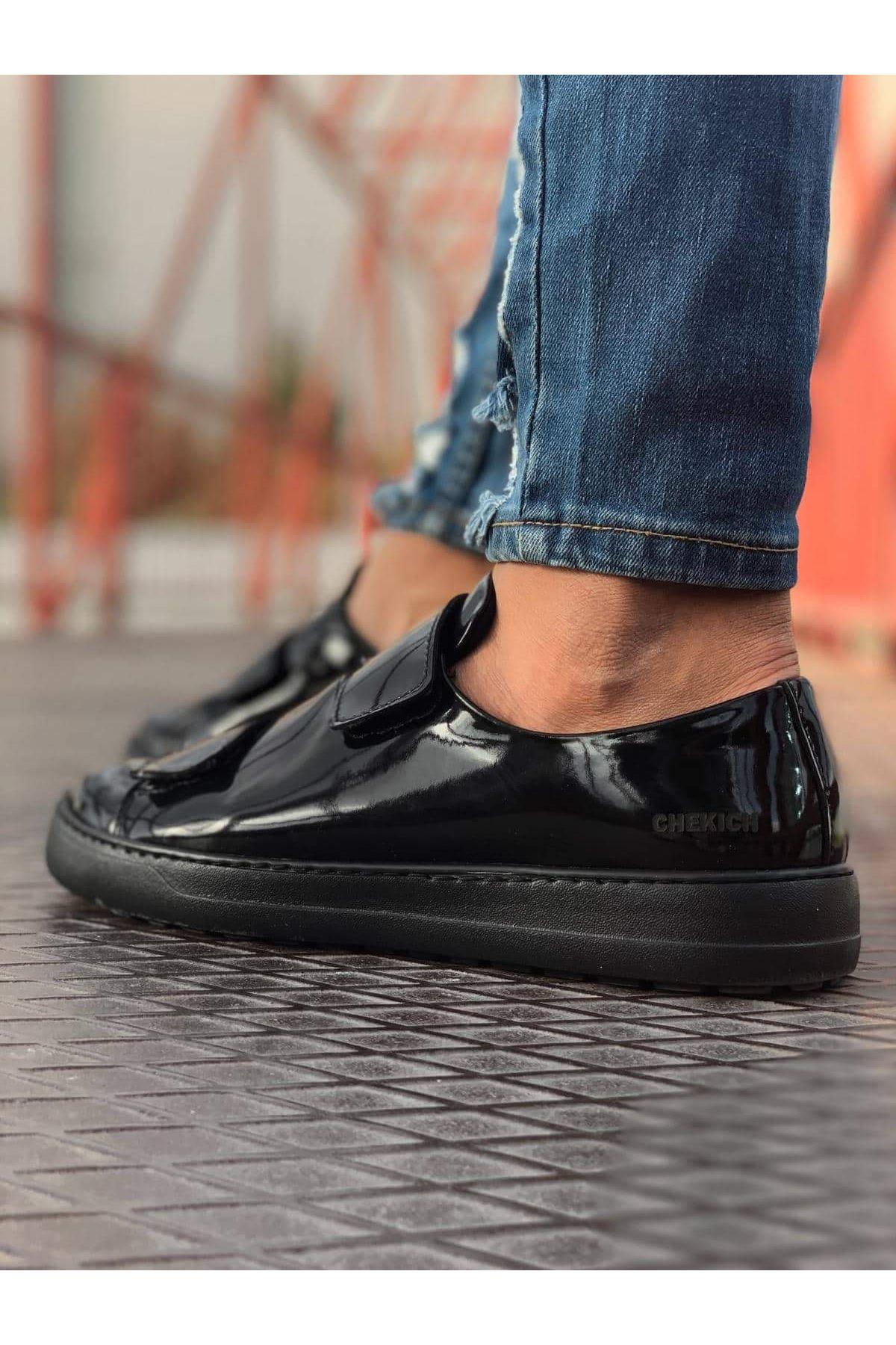 Chekich CH007 Rugan ST Erkek Ayakkabı SIYAH