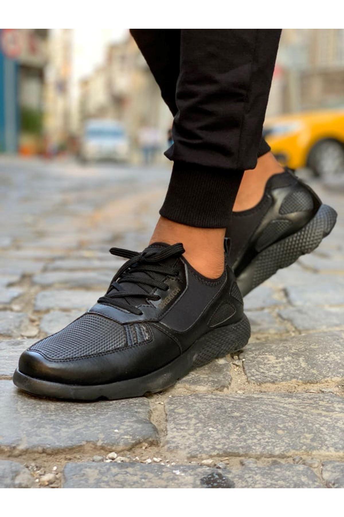 Chekich CH019 ST Erkek Ayakkabı SIYAH