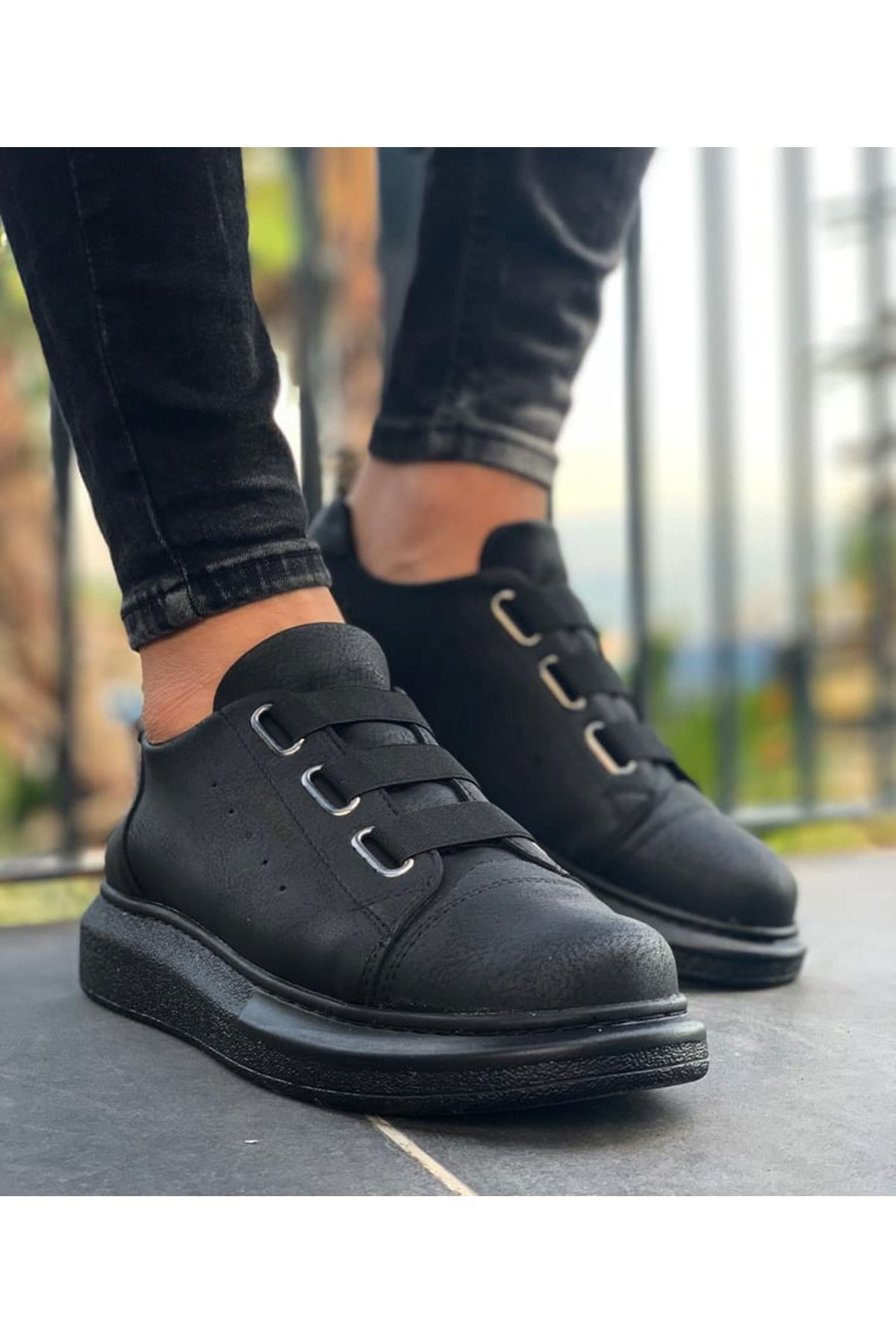Chekich CH253 ST Erkek Ayakkabı SIYAH