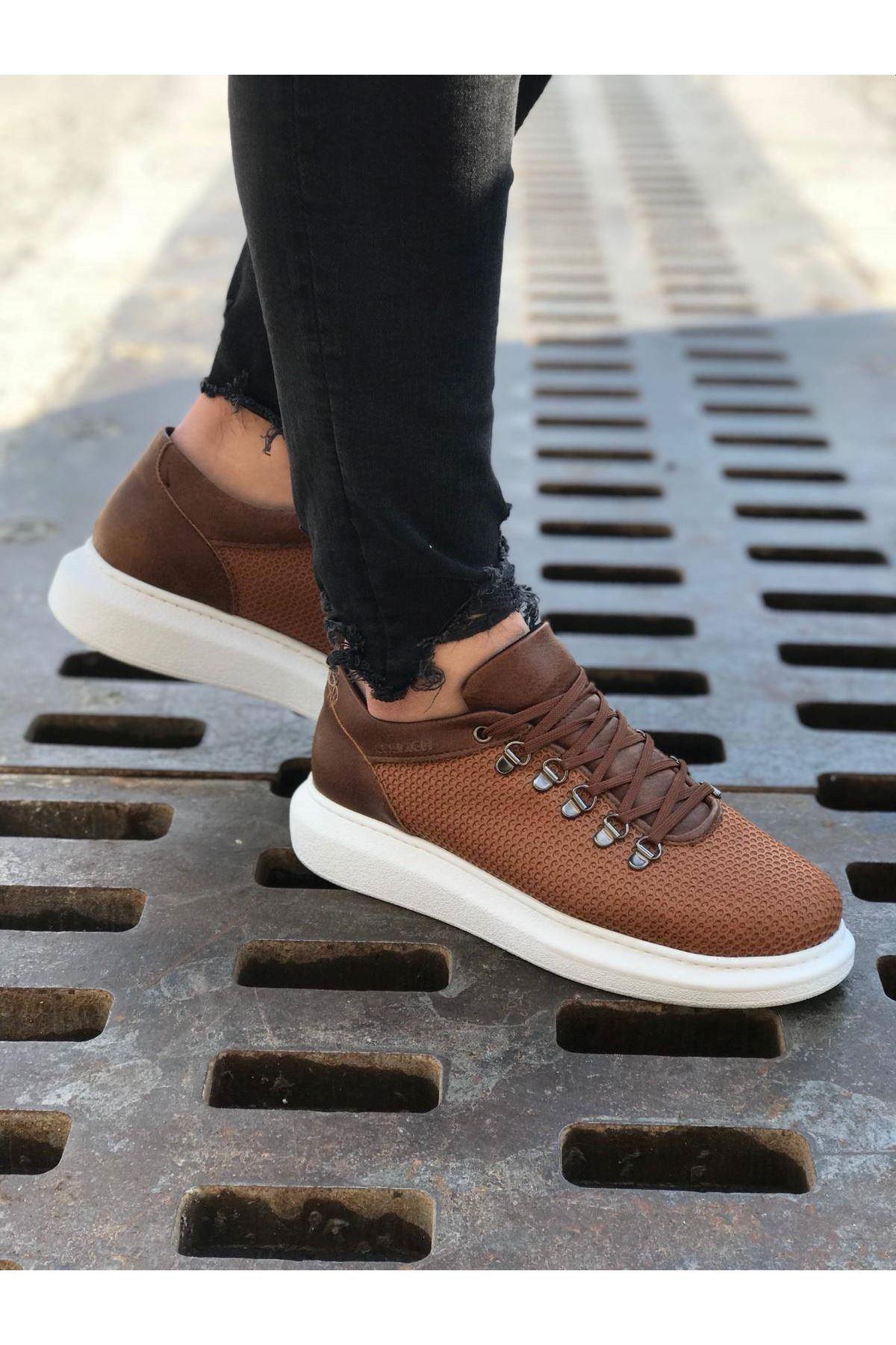 Chekich CH021 YBT Erkek Ayakkabı TABA