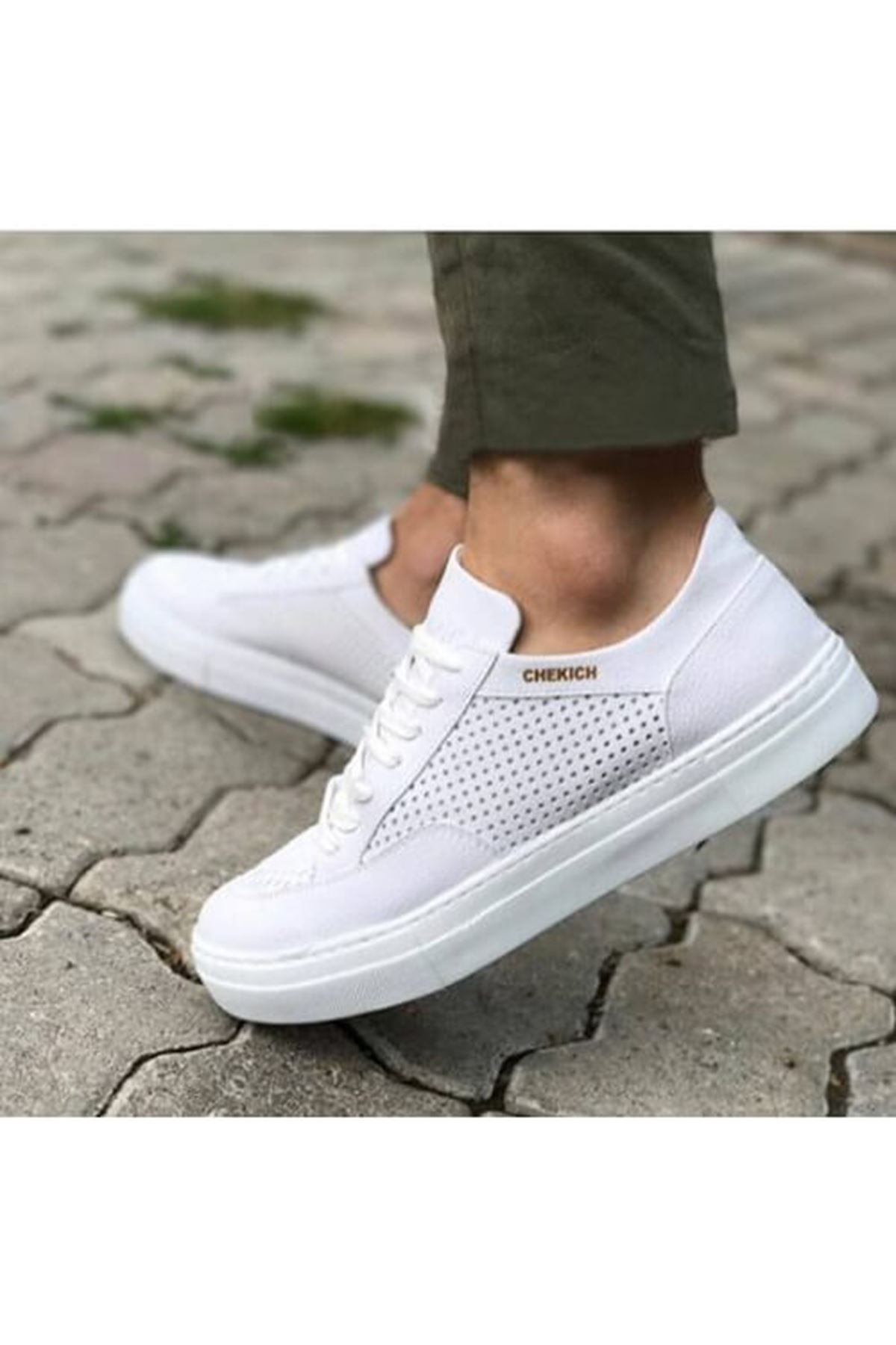 Chekich CH015 BT Erkek Ayakkabı BEYAZ