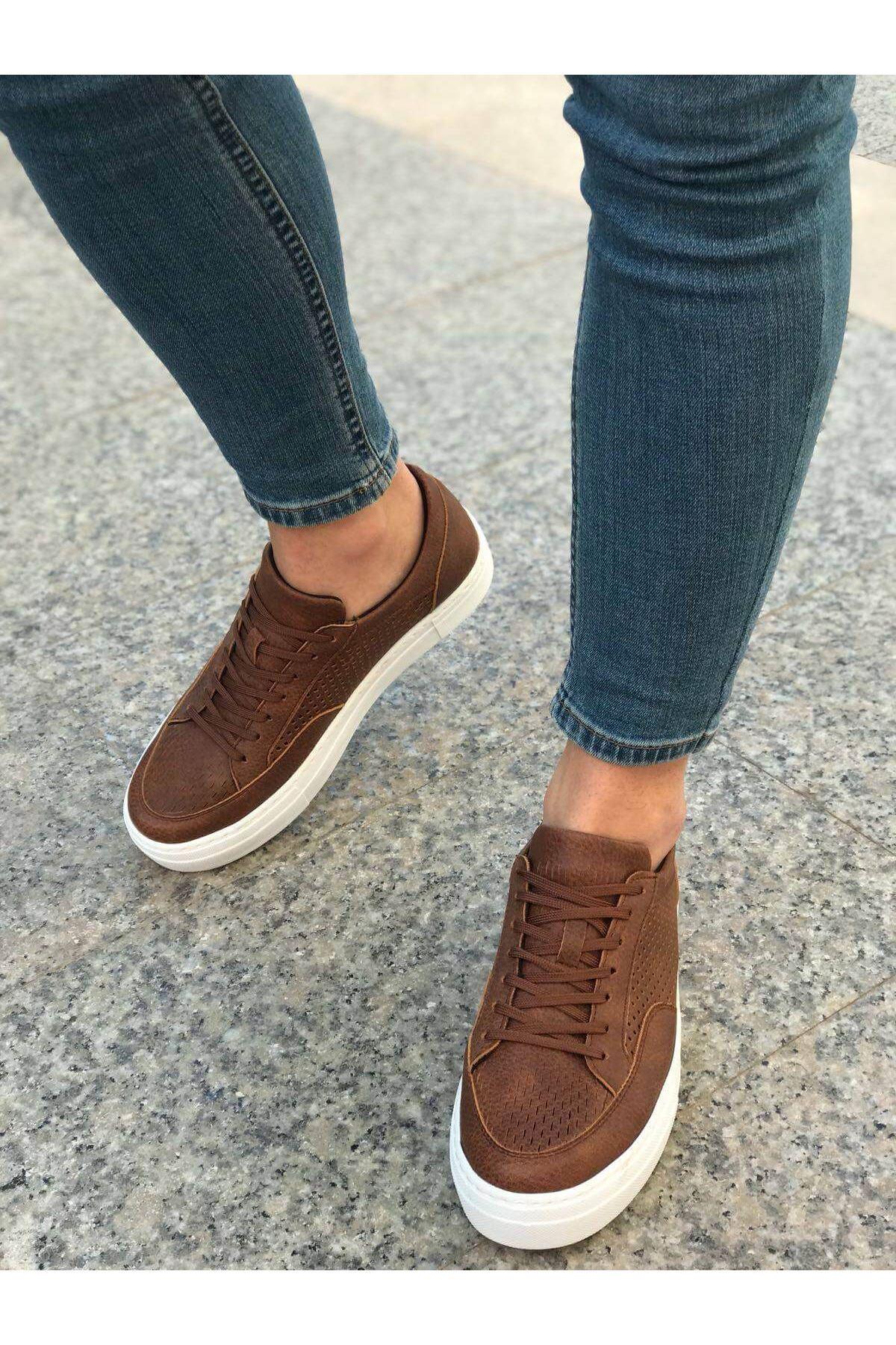 Chekich CH015 BT Erkek Ayakkabı TABA