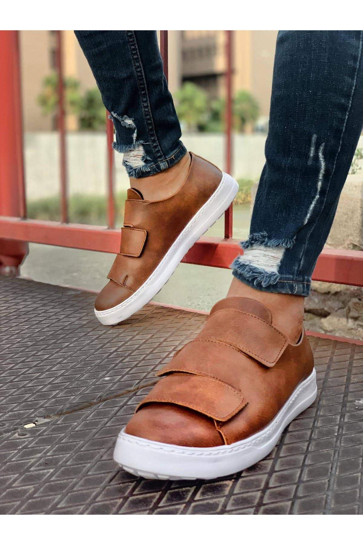 Chekich CH007 BT  Erkek Ayakkabı TABA