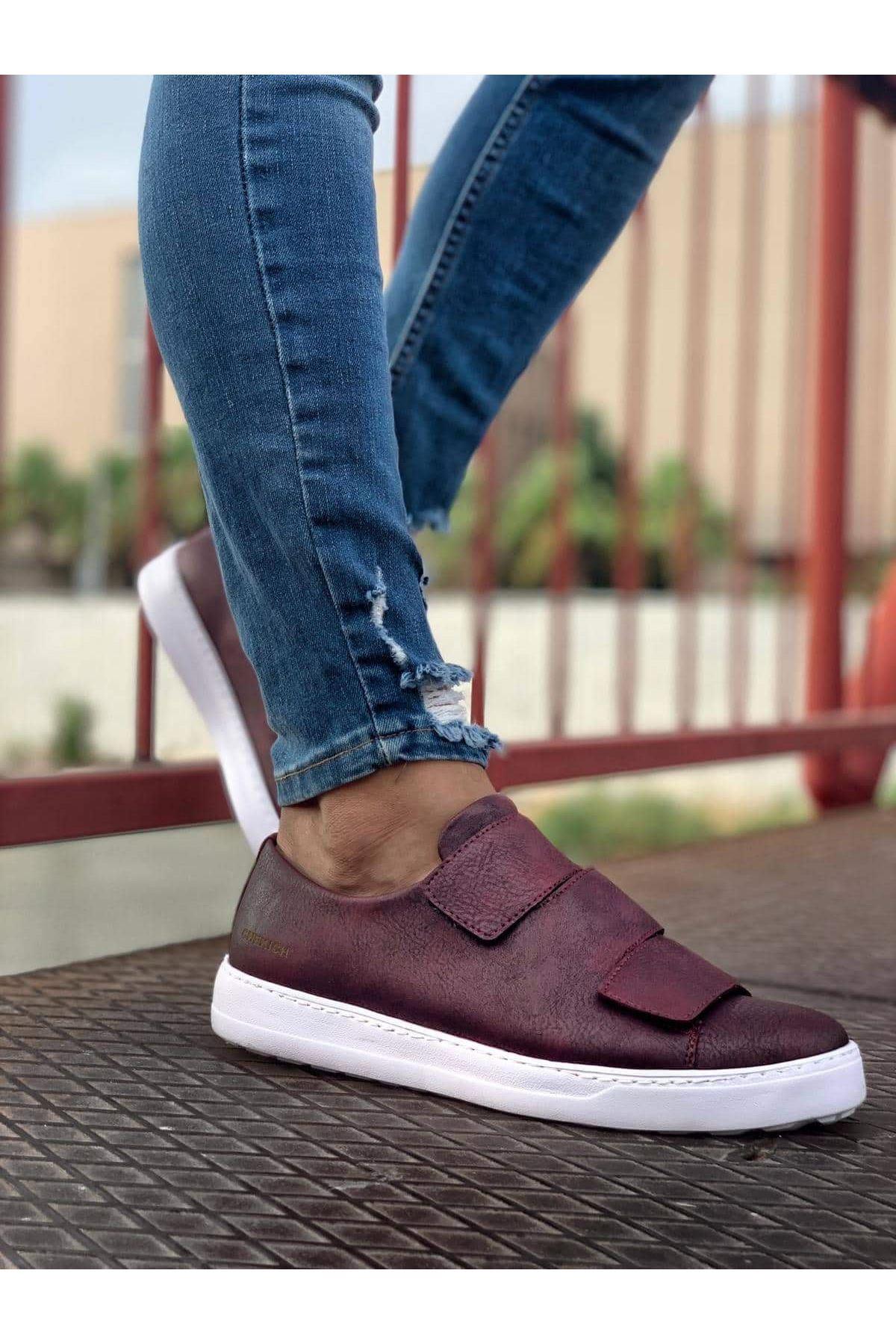 Chekich CH007 BT  Erkek Ayakkabı BORDO