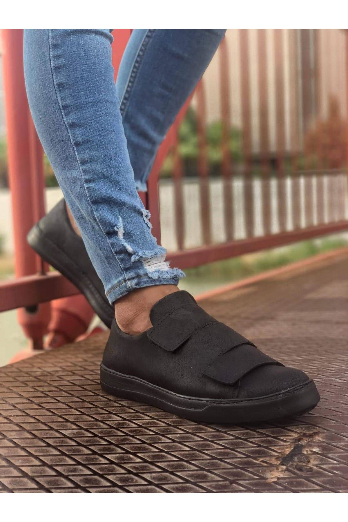 Chekich CH007 ST Erkek Ayakkabı SİYAH