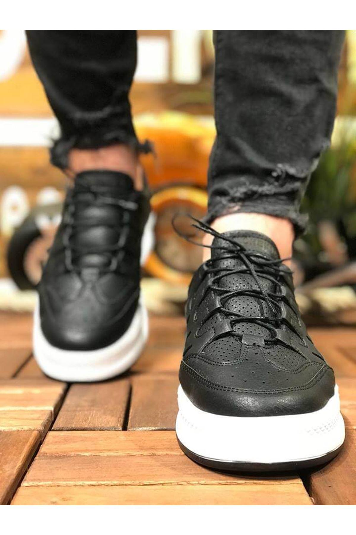 Chekich CH040 BT Erkek Ayakkabı SİYAH