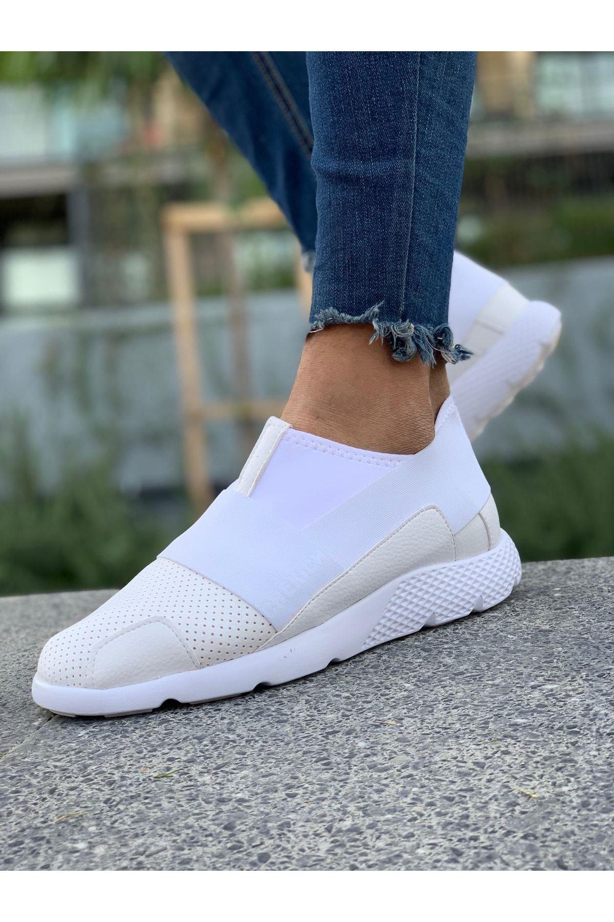 Chekich CH035 BT Erkek Ayakkabı BEYAZ