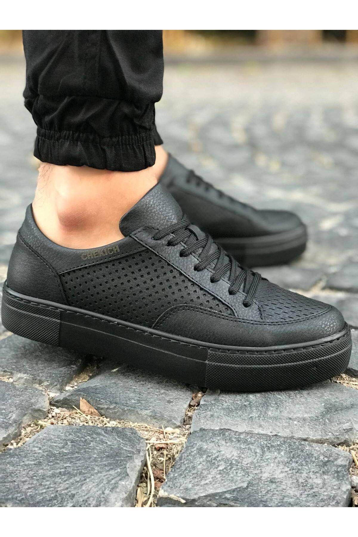 Chekich CH015 ST Erkek Ayakkabı SİYAH