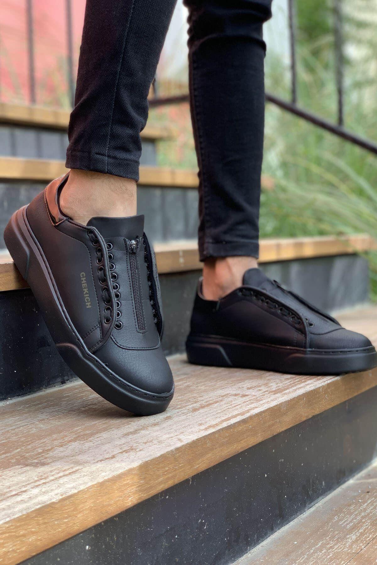 Chekich CH092 GST Erkek Ayakkabı SİYAH / RUGAN