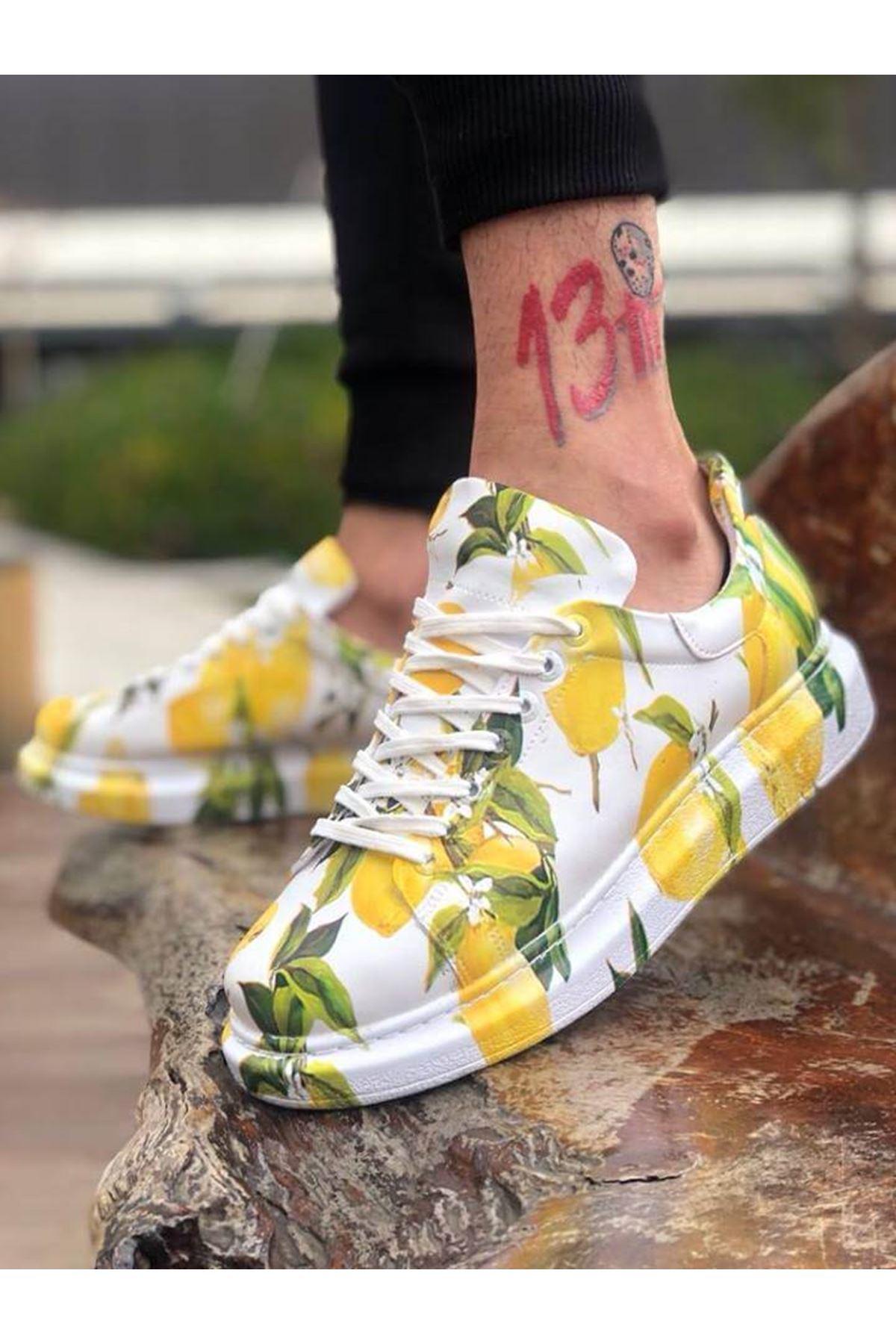 Chekich CH255 BT Erkek Ayakkabı LİMON