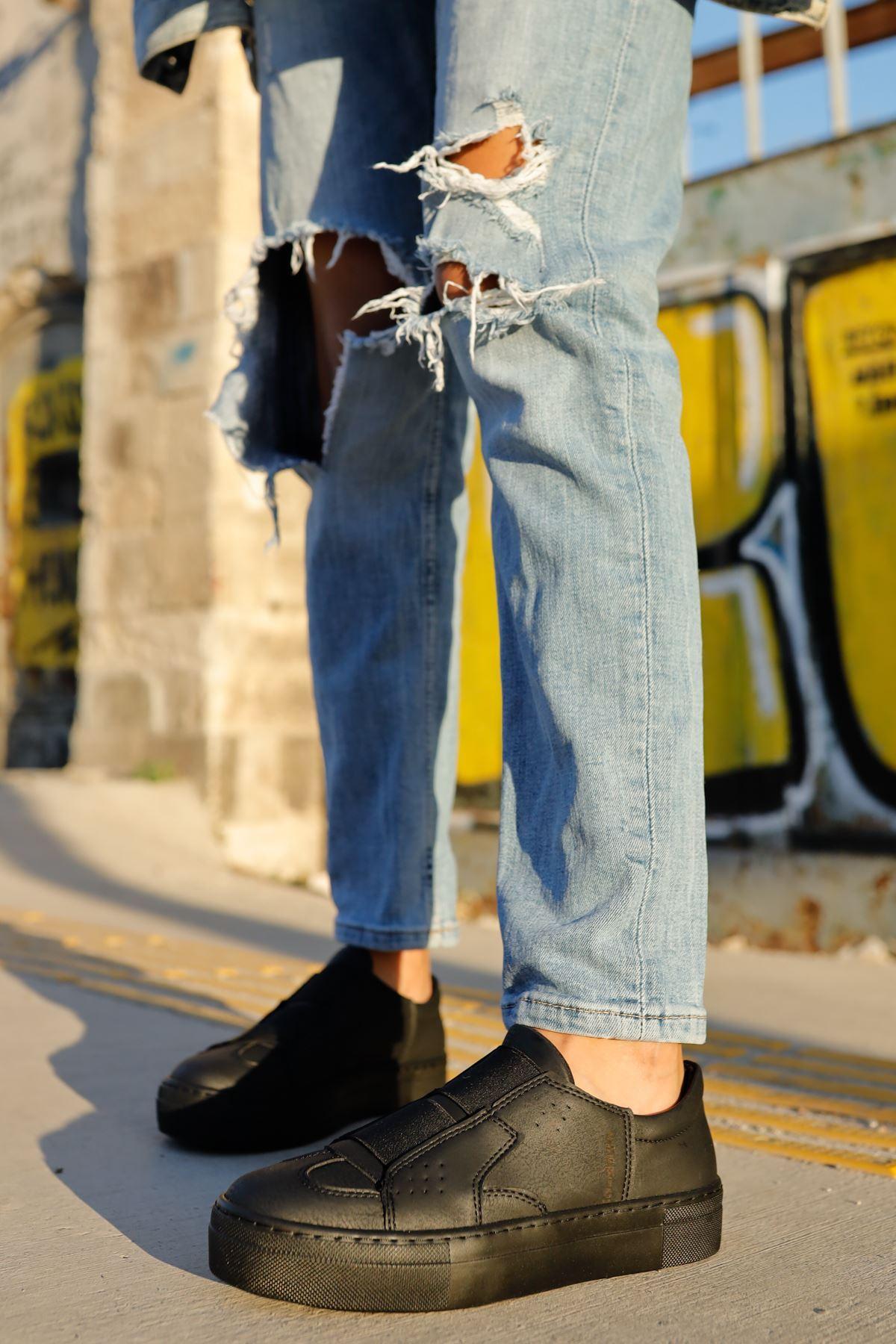 Chekich CH033 ST Kadın Ayakkabı SIYAH