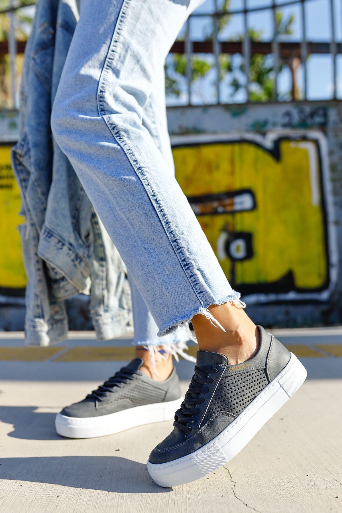 Chekich CH015 BT Kadın Ayakkabı ANTRASİT