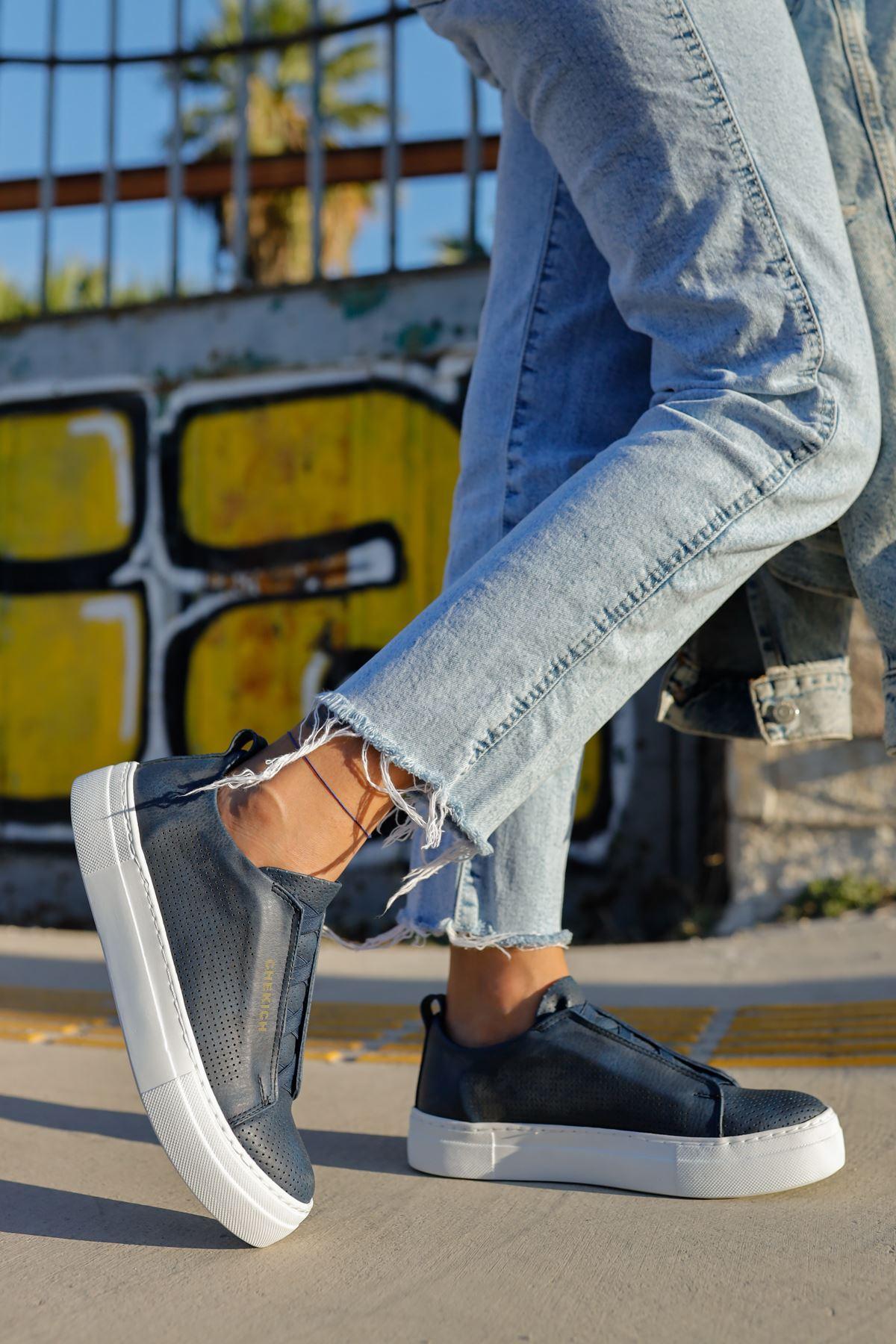 Chekich CH011 BT Kadın Ayakkabı LACİVERT