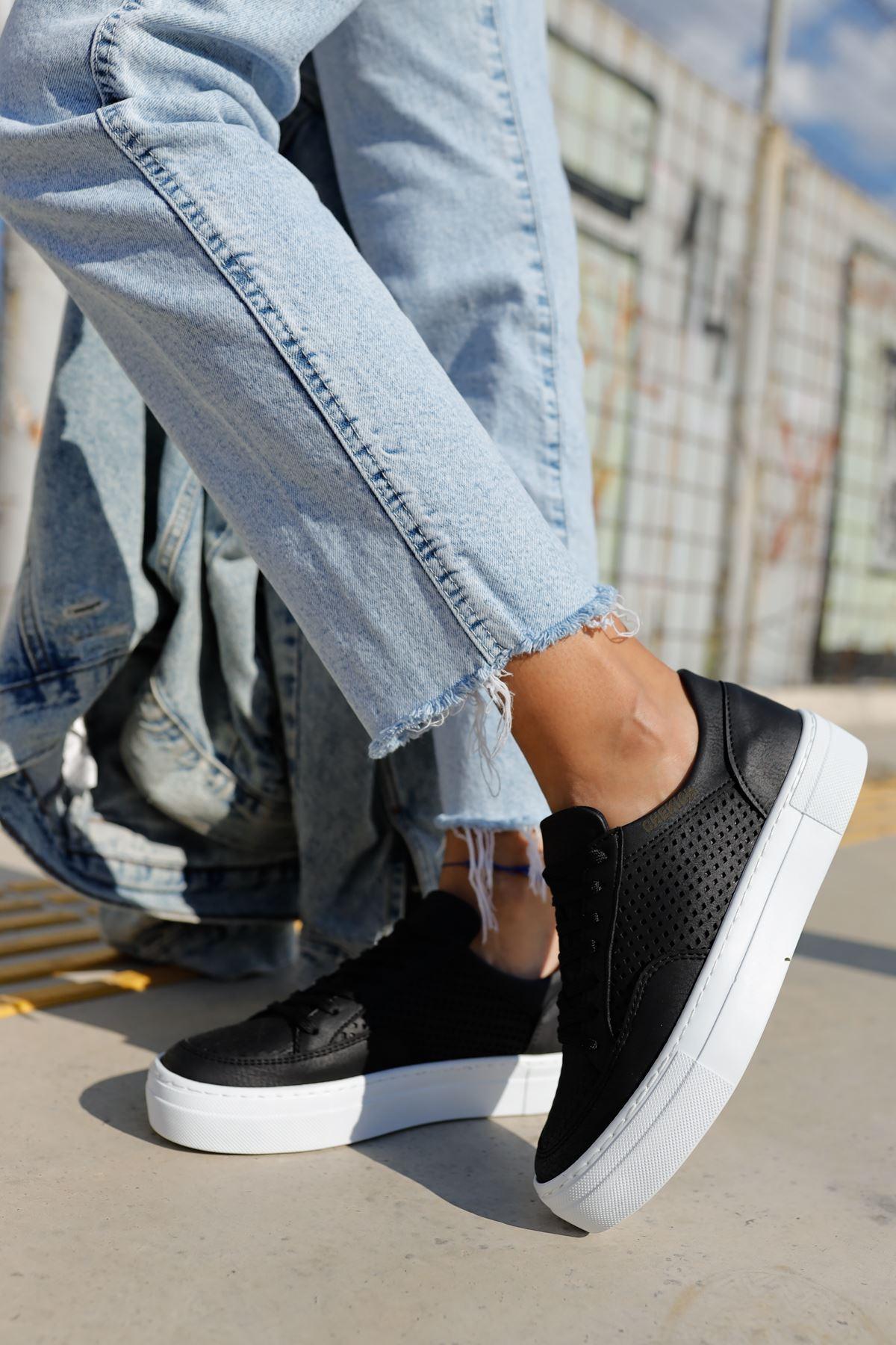 Chekich CH015 BT Kadın Ayakkabı SIYAH