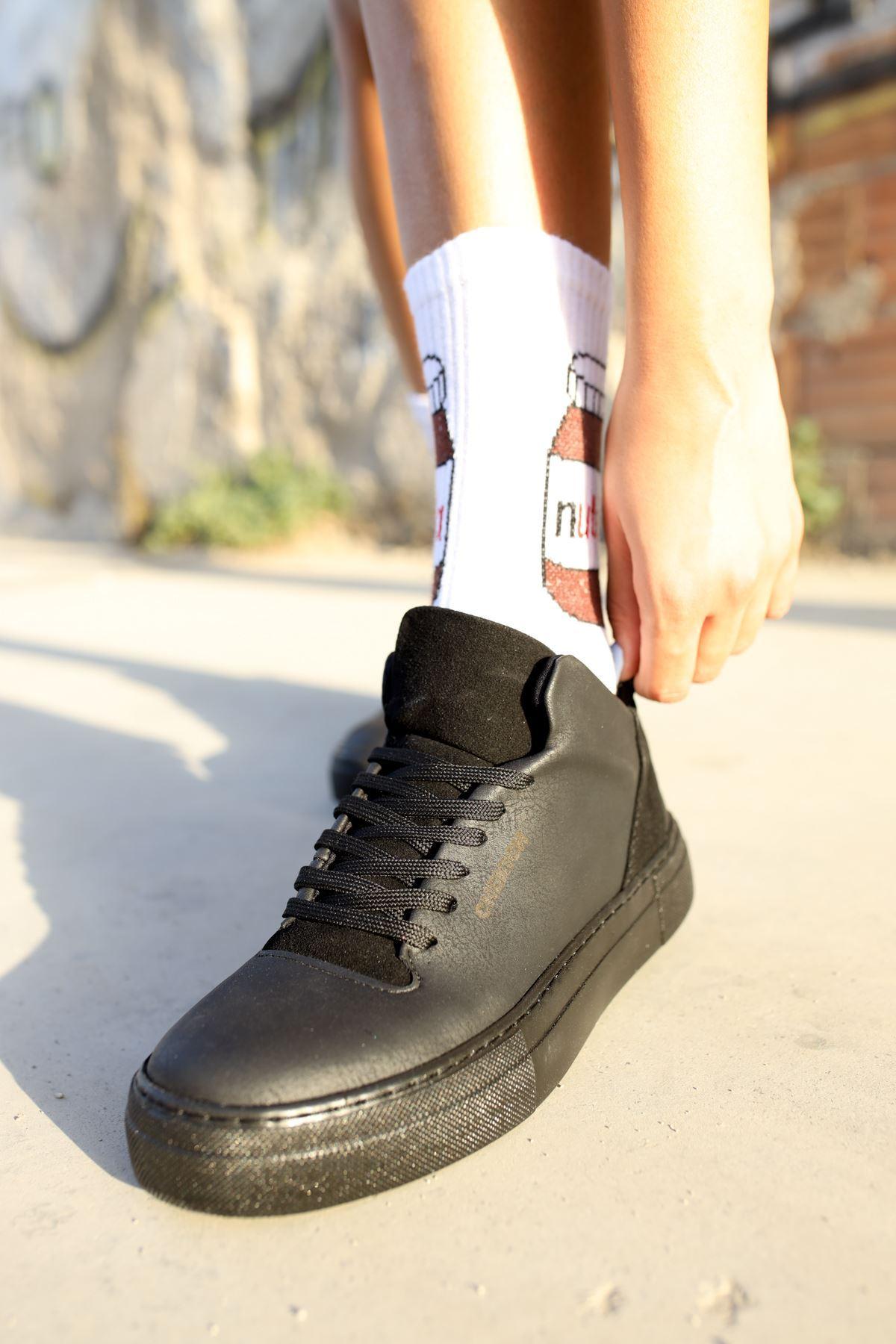 Chekich CH004 ST Kadın Ayakkabı SIYAH