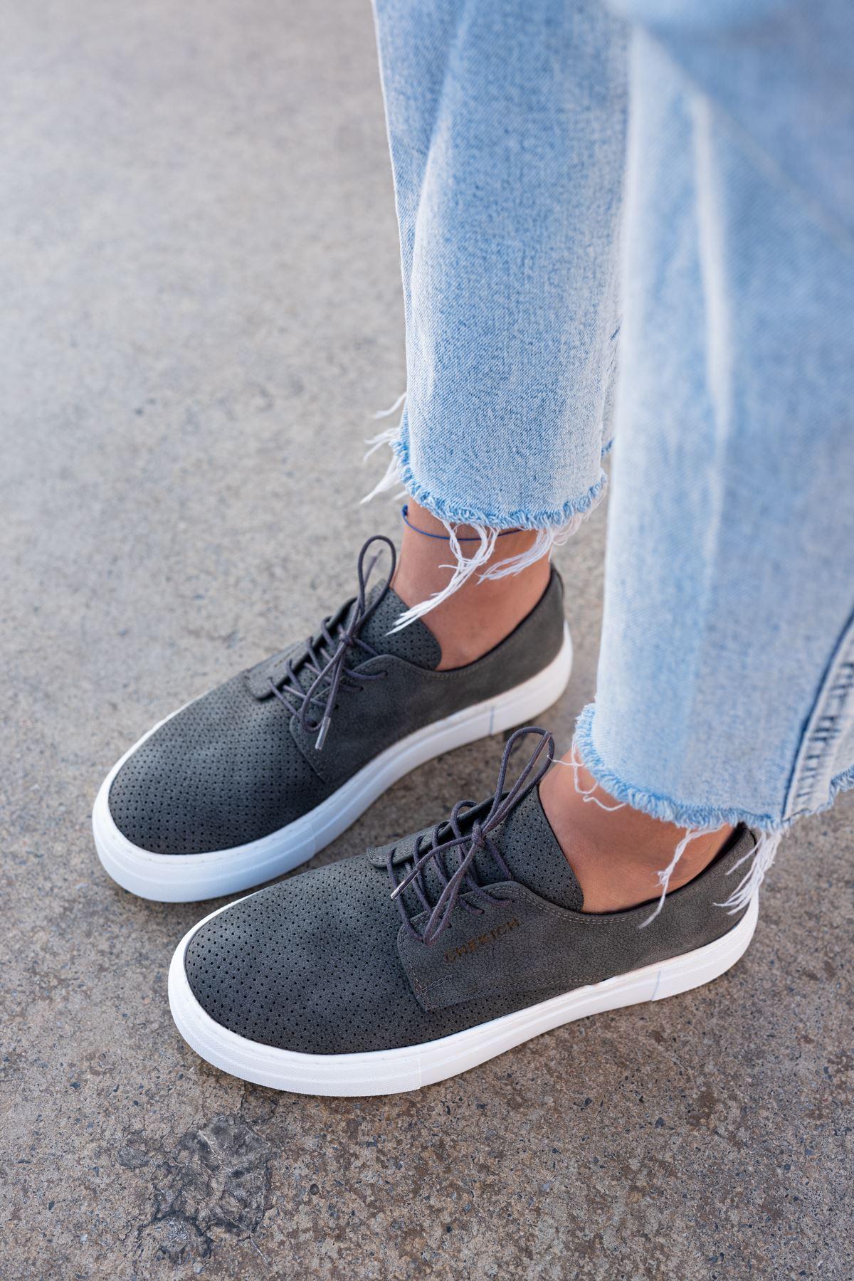 Chekich CH061 BT Kadın Ayakkabı ANTRASİT