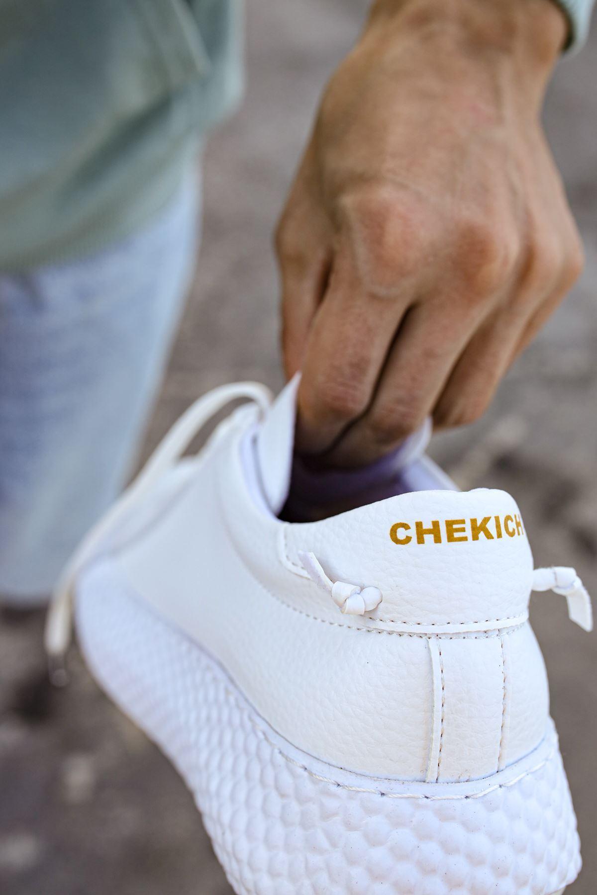Chekich CH107 GBT Erkek Ayakkabı BEYAZ / BEYAZ
