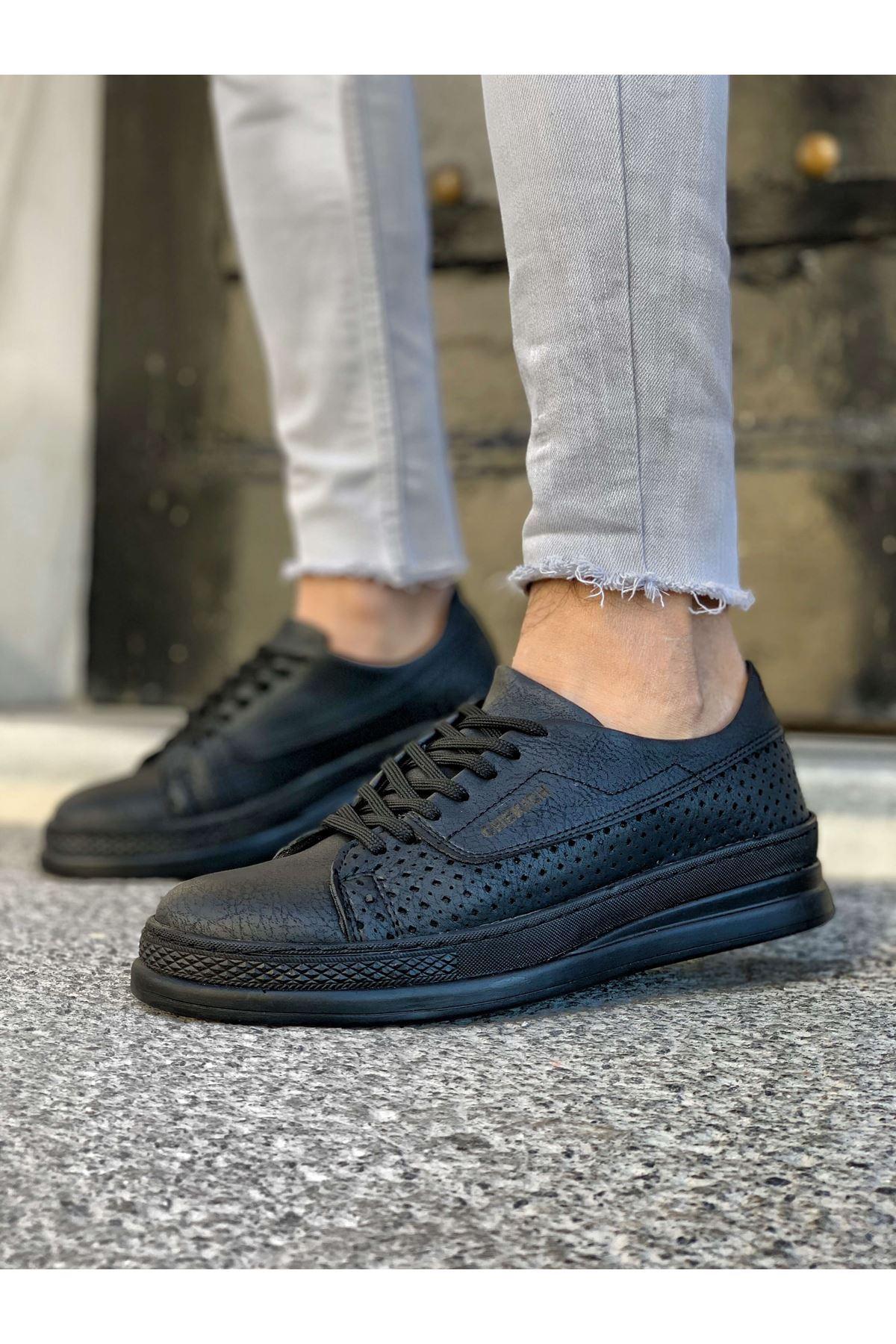 Chekich CH043 ST Erkek Ayakkabı SIYAH