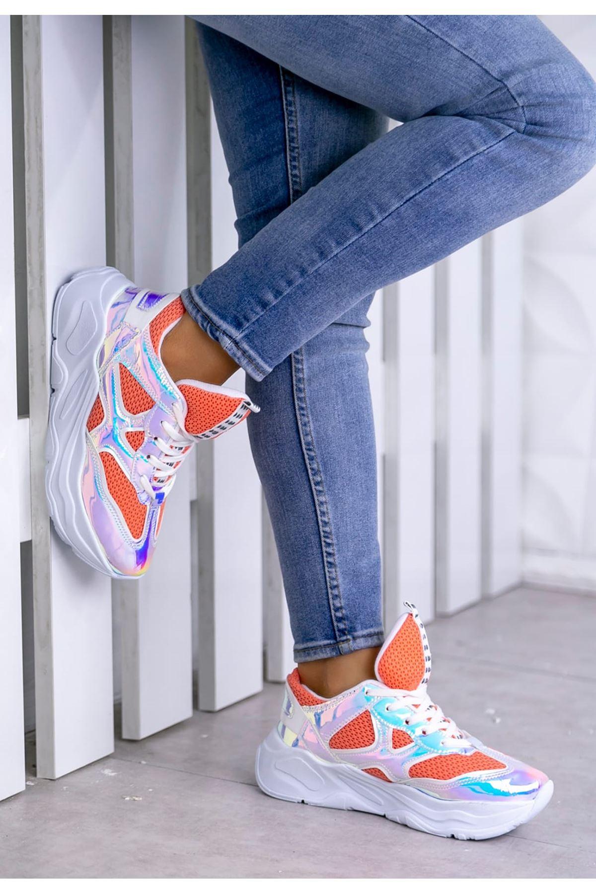 Daısy Turuncu Kadın Spor Ayakkabı