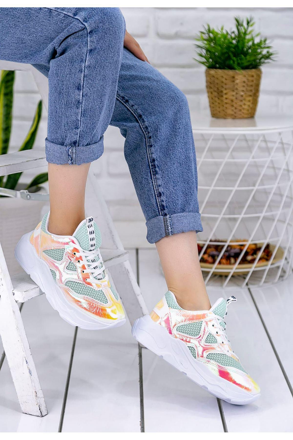 Daısy Yeşil Kadın Spor Ayakkabı